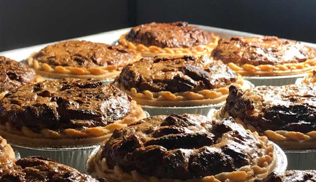 tarts on plate