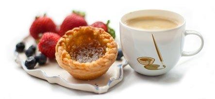 tart and mug