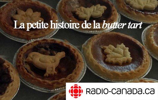 radio-canada - histoire de la butter tart